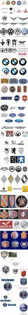 Logotipos marcas coches