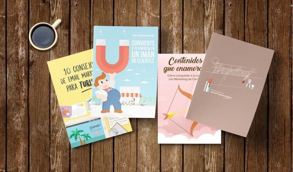Descarga 4 ebooks de marketing on line gratis