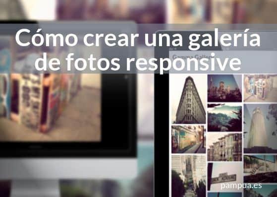 Cómo crear una galería de fotos responsive