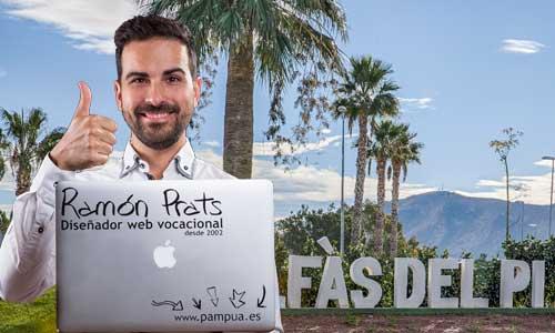 Diseñador web en Alfás