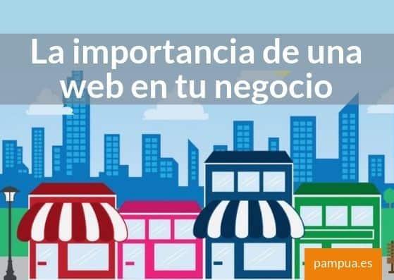 La importancia de una web para tu negocio